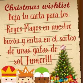 Sorteo Gafas de Sol Junior por tu carta a los Reyes Magos!!